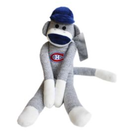 Montreal Canadiens Sock Monkey