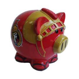 Forever Collectibles Ottawa Senators Large Thematic Piggy Bank