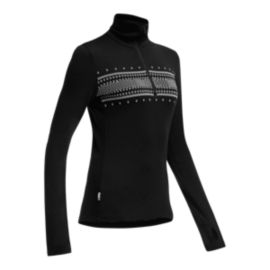 Icebreaker 260 Women's Long Sleeve Half Zip Top