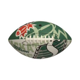 Wilson CFL Saskatchewan Roughriders Junior Replica Football