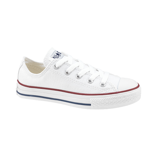 40fe0b09c5b743 Converse Girls  CT All Star Ox Preschool Casual Shoes - White ...