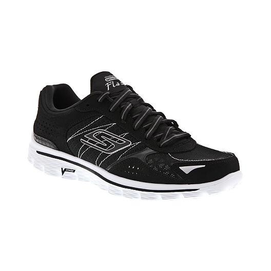 4c1c34b21706 Skechers Women s Go Walk 2 Flash Goga Shoes - Black White
