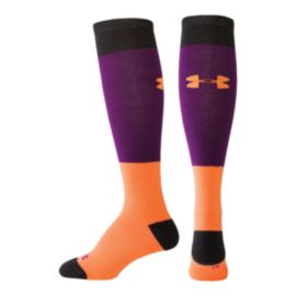 Under Armour Women's Mountain Color Block Thin Socks