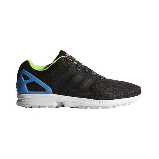 best service adad0 2d077 adidas Men's ZX Flux Shoes - Black/Blue | Sport Chek