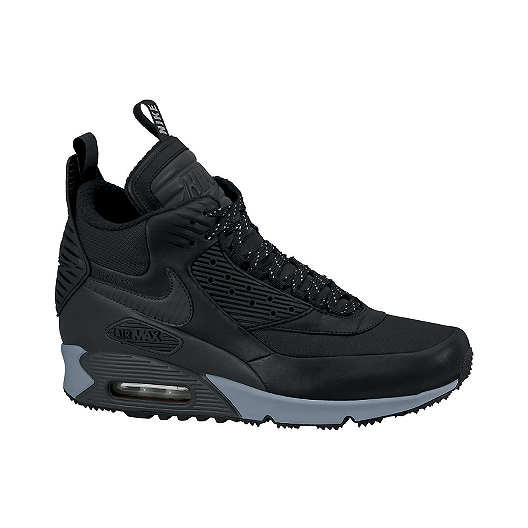 Nike Men s Air Max 90 SneakerBoot Winter Trend Boots - Black  df6a7a897