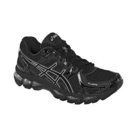 ASICS Women's Gel Kayano 21 Running Shoes - Black/Silver