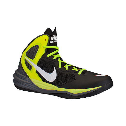 promo code 9a29f cd786 Nike Men s Prime Hype DF Basketball Shoes - Black Volt Green   Sport Chek