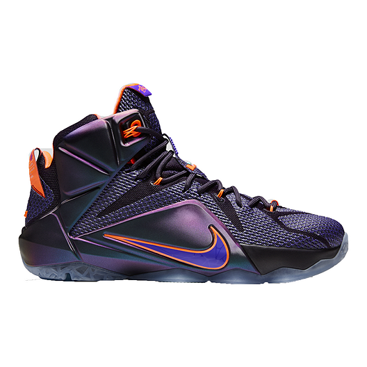 best loved 89a0e eb719 Nike Men s LeBron 12 Basketball Shoes - Purple Blue Red   Sport Chek