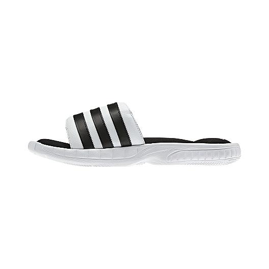 7eab14d3d adidas Men s Superstar 3G Slides Sandals - White Black