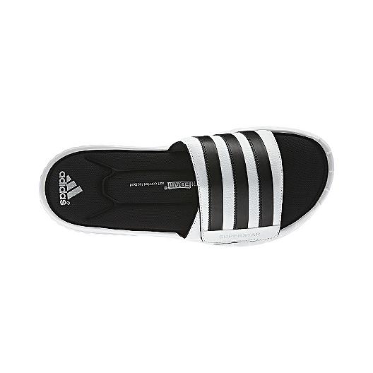 4fdae012d adidas Men s Superstar 3G Slides Sandals - White Black
