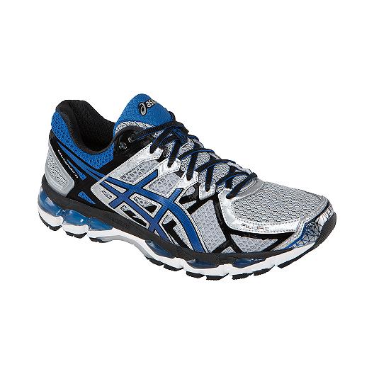 uk availability 61475 7544b ASICS Men s Gel Kayano 21 Running Shoes - Silver Blue   Sport Chek