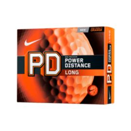 Nike PD8 Long Orange Golf Balls - 12 Pack