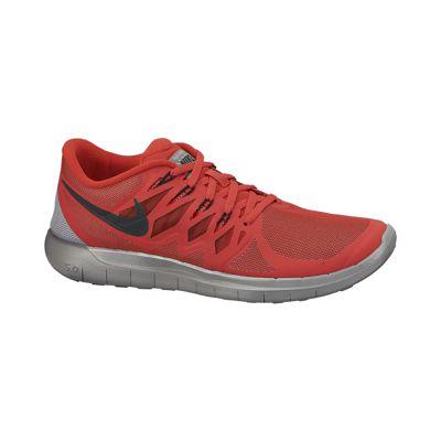 nike free 5.0 flash men's running shoe red png