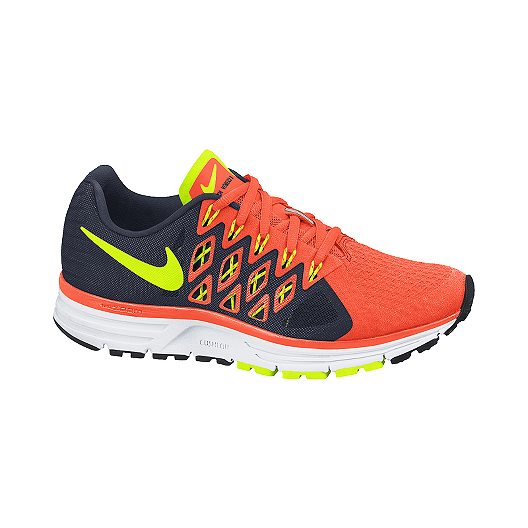 70b3e3adcc99 Nike Men s Zoom Vomero 9 Running Shoes - Orange Black Yellow