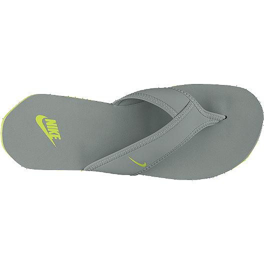 b75bb9ba2 Nike Men s Celso Thong Plus Sandals - Grey Green