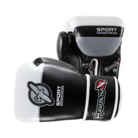 Hayabusa Sport 16oz. Training Gloves - Black/White