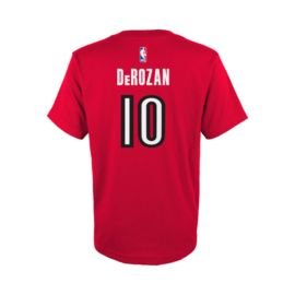 adidas Toronto Raptors DeMar DeRozan Game Time Tee