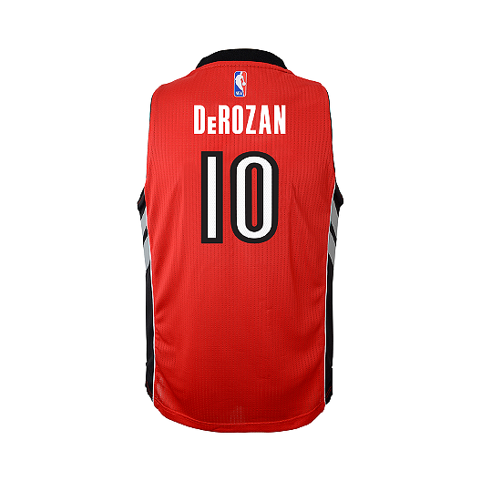 310dbd6ff630 Toronto Raptors DeMar DeRozan Red Swingman Youth Basketball Jersey ...