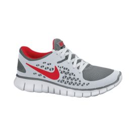 Nike Free Run+ Men's Running  Shoes - Grey / Blue