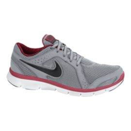 Nike Men's Flex Experience Run 2 Running Shoes - Grey/Red/Black