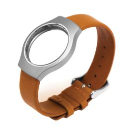 Misfit Shine Leather Watch Strap - Tan