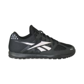 Reebok Men's CrossFit Nano 2.0 Training Shoes - Black/Silver