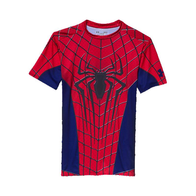 01c9e2796de Under Armour Spider Man Compression Men's Short Sleeve Top | Sport Chek