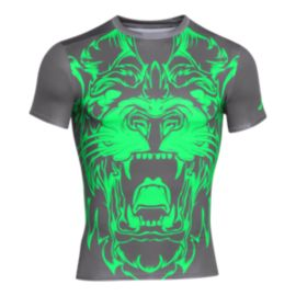 Under Armour Beast Lion Compression Men's Short Sleeve Top