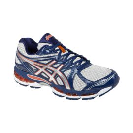 ASICS Men's Gel Evate 2 Running Shoes - Silver/Blue