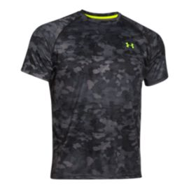 Under Armour Tech Printed Men's Shorts Sleeve Top