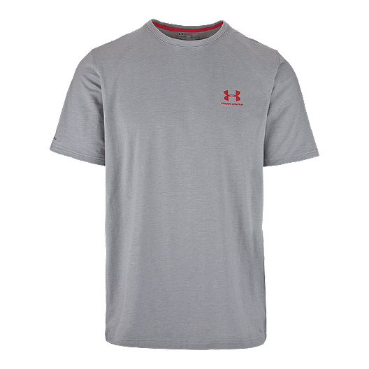 c771b60985 Under Armour Charged Cotton Left Chest Men's Logo Tee | Sport Chek