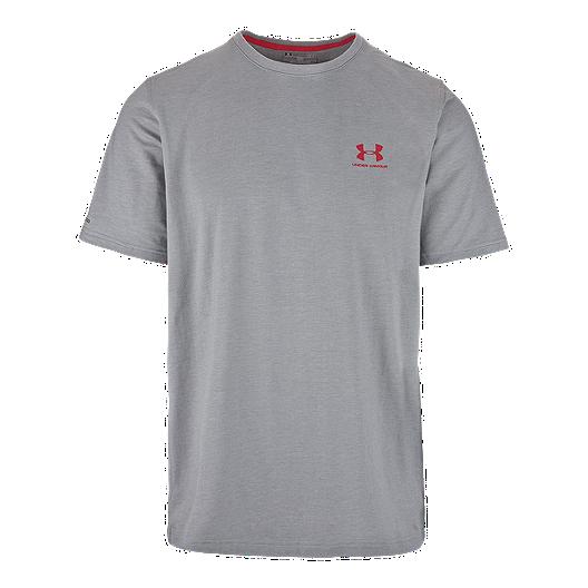 68e196e89 Under Armour Charged Cotton Left Chest Men's Logo Tee | Sport Chek