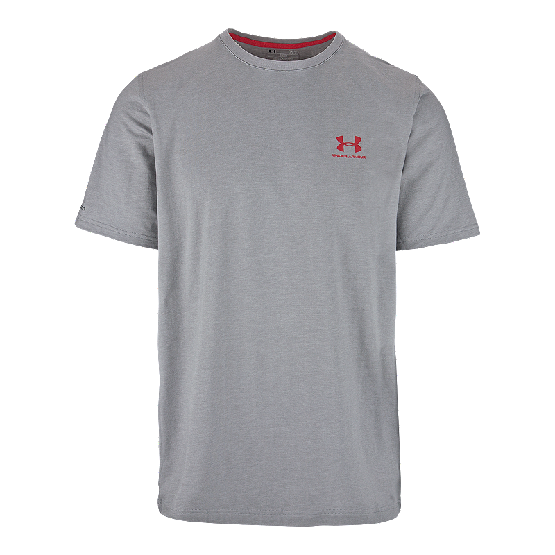 ad85344977 Under Armour Charged Cotton Left Chest Men's Logo Tee | Sport Chek