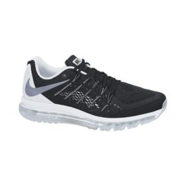 Nike Women's Air Max 2015 Running Shoes - Black/White/Silver