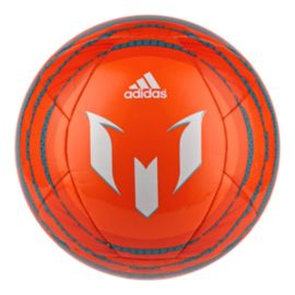 adidas Messi Soccer Ball - Solar Orange