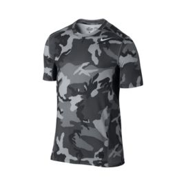 Nike Pro Combat Hypercool Fitted Woodland Men's Shot Sleeve Top