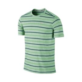 Nike Tailwind Run Stripe Men's Short Sleeve Top