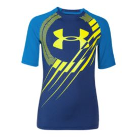 Under Armour Show Me Sweat UPF Kids' Half Sleeve T Shirt