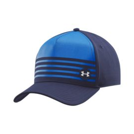 Under Armour Striped Out Low Crown Men's Stretch Fit Cap