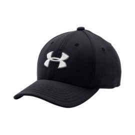 Under Armour Boys' Blitzing II Stretch Fit Hat