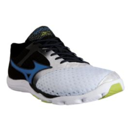 Mizuno Men's Wave Evo Cursoris Running Shoes - White/Black/Blue