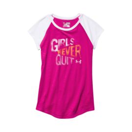 Under Armour Girls Never Quit Girls' Raglan Tee