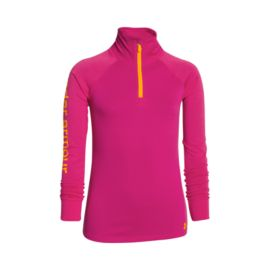 Under Armour Tech Girls' ¼ Zip Top