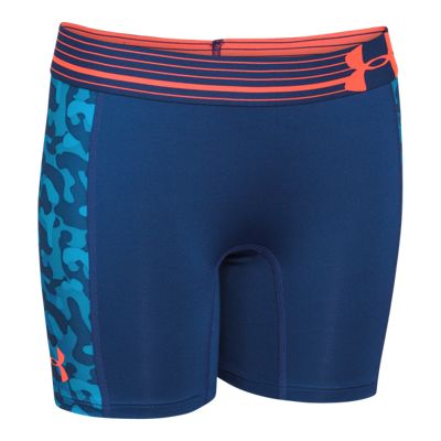 Under Armour Alpha Girls' 5'' Printed Shorts