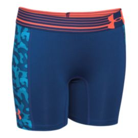 "Under Armour Alpha Girls' 5"" Printed Shorts"