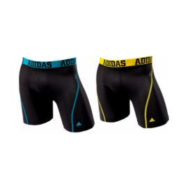 adidas Sport Performance CLIMALITE® Men's Boxer Brief Two Pack - Black