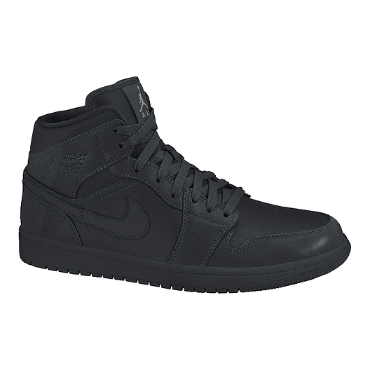 sports shoes aabc1 92513 Nike Air Jordan 1 Mid Grade-School Kids' Basketball Shoes ...