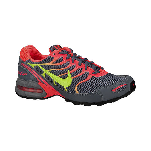 6ace09aa68ca9 Nike Women s Air Max Torch 4 Running Shoes - Grey Orange Volt Green ...