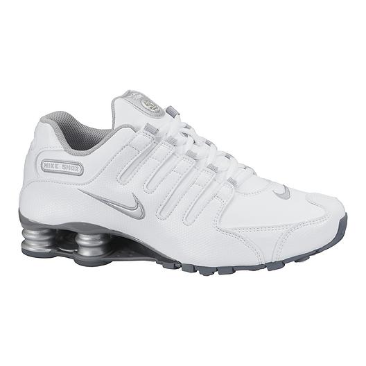 a3f107ca8ad8 Nike Women s Shox NZ EU Shoes - White Silver