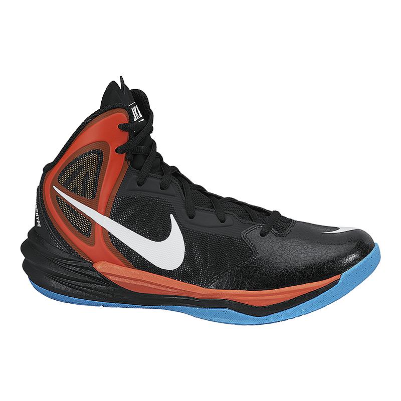 new products f739a b6e7d Nike Mens Prime Hype DF Basketball Shoes - BlackOrangeBlue  Sport Chek